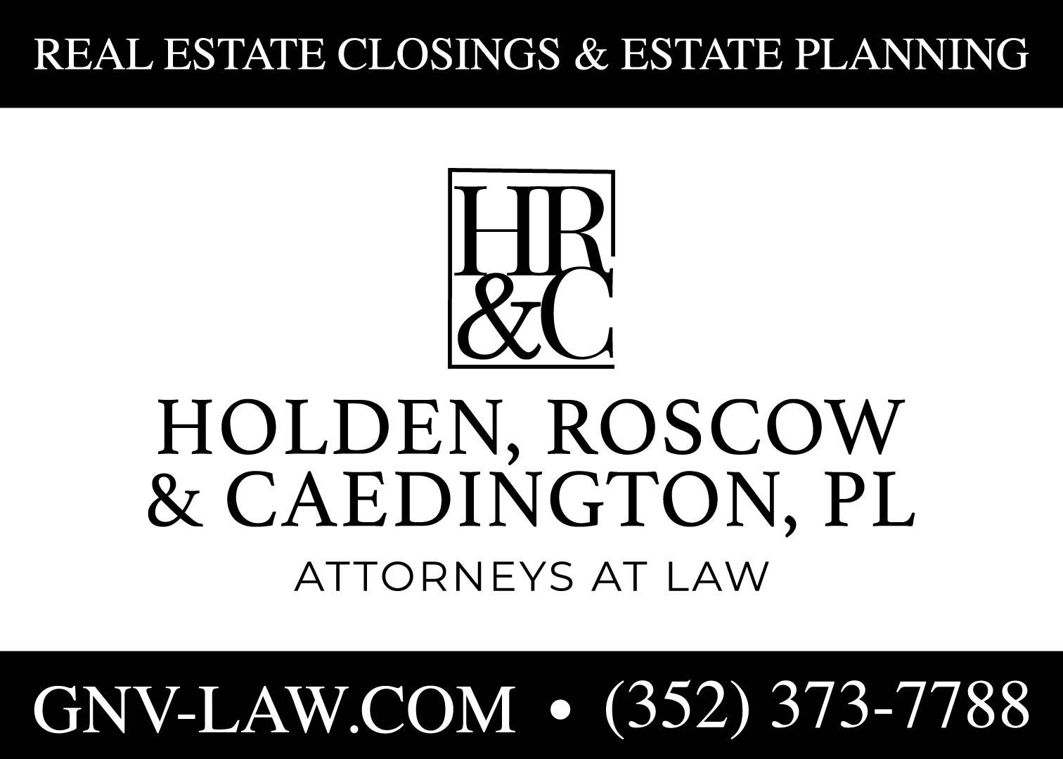 Holden, Roscow, & Caedington, PL